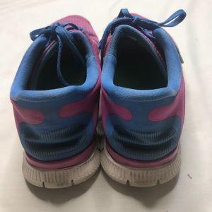 d80214b9c168 Nike Shoes - Nike Free 4.0 V3 Women Club Distance Blue Sneakers